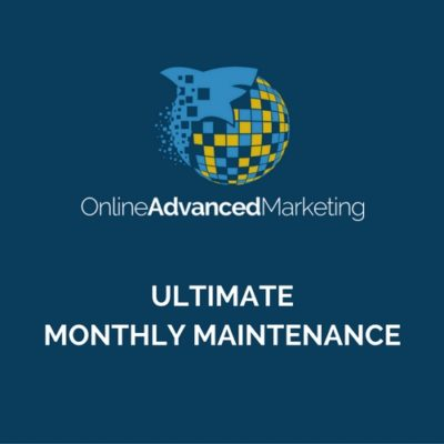 ULTIMATE - MONTHLY MAINTENANCE